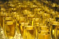 nytt år för champange Royaltyfria Foton