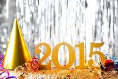 nytt år för garnering Arkivbilder