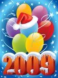 nytt år för garnering vektor illustrationer