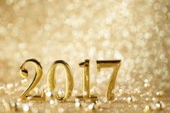 nytt år för garnering arkivfoto