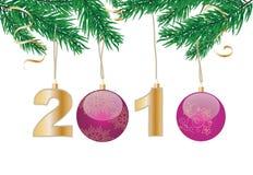 nytt år för helgdagsafton Royaltyfria Bilder
