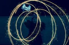 nytt år för 2009 helgdagsafton Royaltyfri Bild