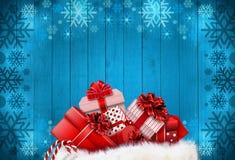 nytt år för jul arkivbild