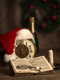 nytt år för jul Arkivfoton