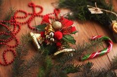 nytt år för jul Arkivfoto