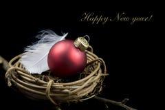 nytt år för julbegrepp Royaltyfri Bild