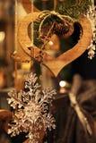 nytt år för julgarnering royaltyfri foto