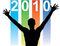 nytt år för kalender Arkivbilder