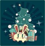 nytt år för kanin s Fotografering för Bildbyråer