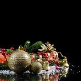 nytt år för kantjul Royaltyfria Foton