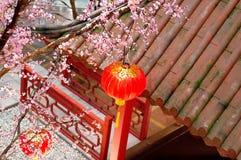 nytt år för kinesisk deco Arkivfoton