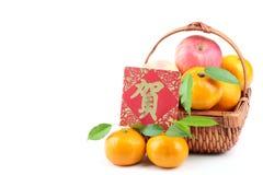 nytt år för kinesisk garnering royaltyfria bilder