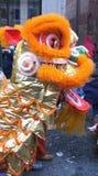 nytt år för kinesisk lion Arkivbild