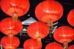 nytt år för kinesiska garneringar Arkivfoton