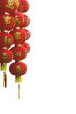 nytt år för kinesiska garneringlyktor Royaltyfria Foton