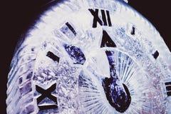 nytt år för klocka arkivbild