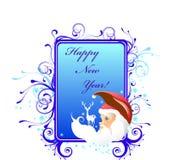 nytt år för kort Royaltyfria Bilder