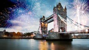 nytt år för stad royaltyfria bilder