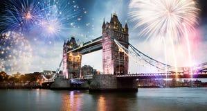 nytt år för stad arkivbild