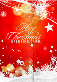 Nytt år och för juldesign Arkivfoto