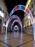 Nytt år på Lissabon Royaltyfria Foton