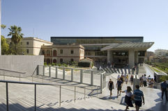 nytt acropolisathens museum arkivfoton