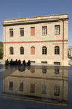 nytt acropolisathens museum royaltyfri bild