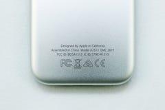 Nytt Apple TVmassmedia som strömmar spelaremicroconsole Royaltyfria Bilder