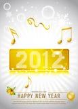 nytt år 2012 för beröm Arkivfoton