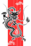 nytt år för kinesisk drake Arkivbilder