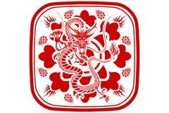 nytt år för kinesisk drake Arkivfoton