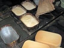 Nytt bakat bröd royaltyfri foto