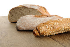 Nytt bakat bröd - materielbild Royaltyfri Foto