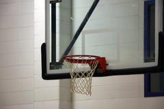 Nytt basketbeslag på ungesportmitten arkivbild