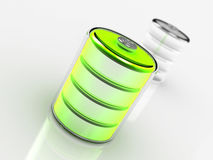 Nytt batteri Royaltyfria Foton