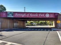 Nytt - bock för ärmlös tröjatransportdrev, stad av Roselle Park, NJ, USA Arkivbilder