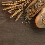 nytt bröd royaltyfria bilder