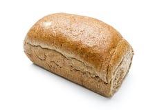 Nytt bröd som isoleras på vit bakgrund Arkivbilder