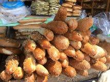 Nytt bröd i Israel Arkivfoton