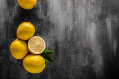 Nytt citronfoto Arkivfoto