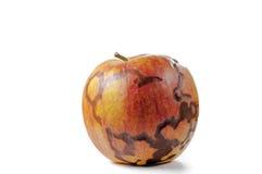 Nytt closeupfoto för magiskt äpple som isoleras på vit bakgrund Royaltyfria Bilder