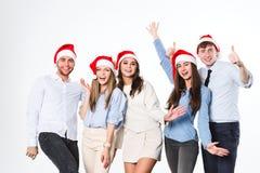 nytt deltagareår för jul arkivbild