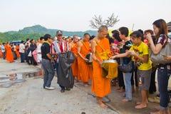 Nytt förordnad buddist. arkivfoton
