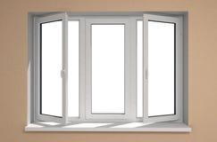 nytt fönster Royaltyfri Fotografi