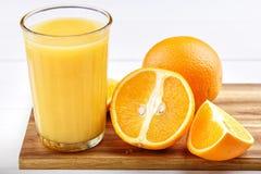 Nytt från apelsiner Arkivfoton