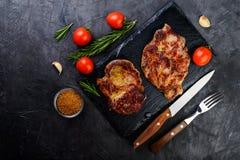 Nytt grillat kött arkivbild