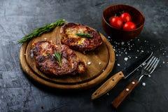 Nytt grillat kött arkivbilder