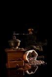 Nytt grillat kaffe. Royaltyfri Fotografi