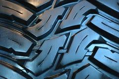 Nytt gummihjulfragment Arkivfoton