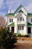nytt härligt hus Arkivfoto
